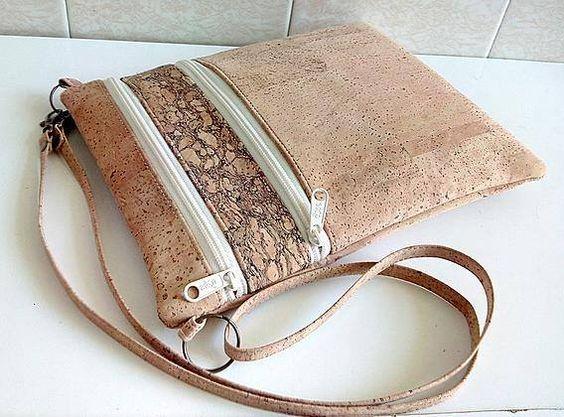 Cork Pattern Kraft Tex Bag Pattern Bag Pattern Zippy Bag