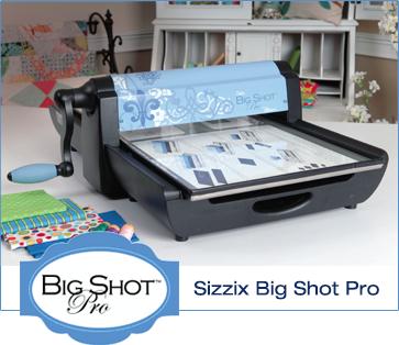 sizzix big pro die cut machine