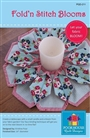 Fold 'n Stitch Blooms Sewing Pattern Poorhouse Quilt Designs #PQD-211