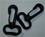 Swivel Snap Hooks Black Plastic 2 pkt Bag Hardware