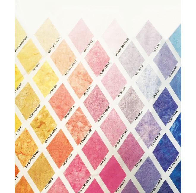 Wisteria  #229 Hoffman 1895 Batik Watercolour Fabric 100/% Cotton