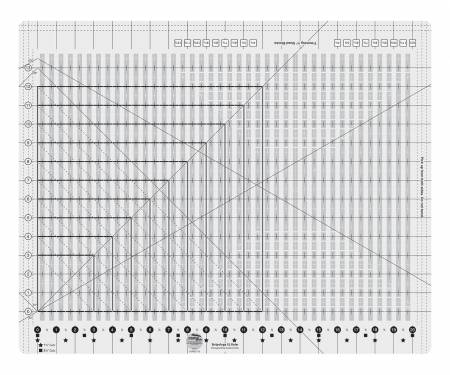 CGR12 Creative Grids 12.5 Square Quilting Ruler Template