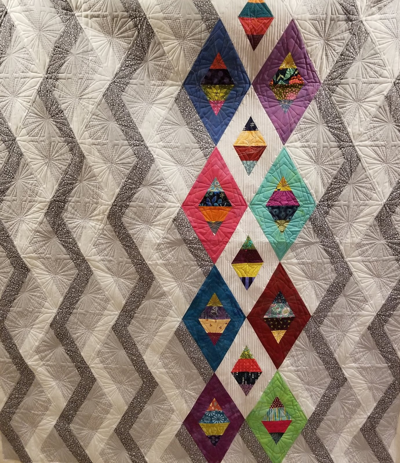 From Cut Loose Press Patterns NEW WOVEN JEWELBOX QUILT QUILTING PATTERN