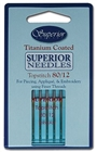 Superior Titanium Coated Sewing Machine Needles 80/12