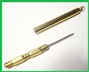 Brass Needle Threader 7949 Polished and Lacquered