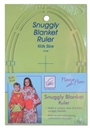 Snuggly Blanket Ruler (Kid Size) - Fleece With Flair June Tailor